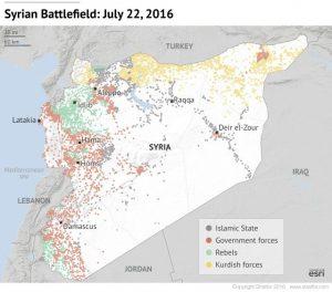 Sytuacja na froncie w Syrii
